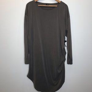 Lisa Bayne Asymmetrical Boho Lagenlook Dress XL